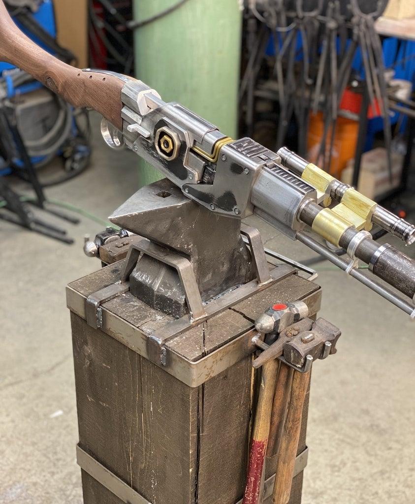 Mandalorian All Metal Replica Blaster