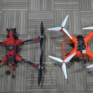 3D Printed Folding Space Drone