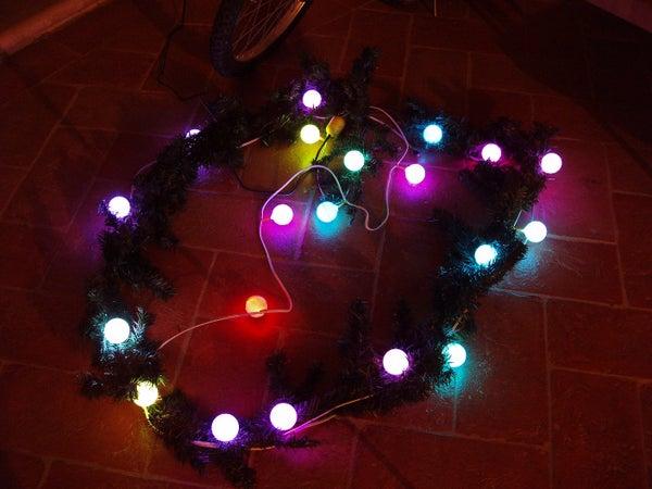 CCCP (Christmas Color Change Ping-pong) Lights