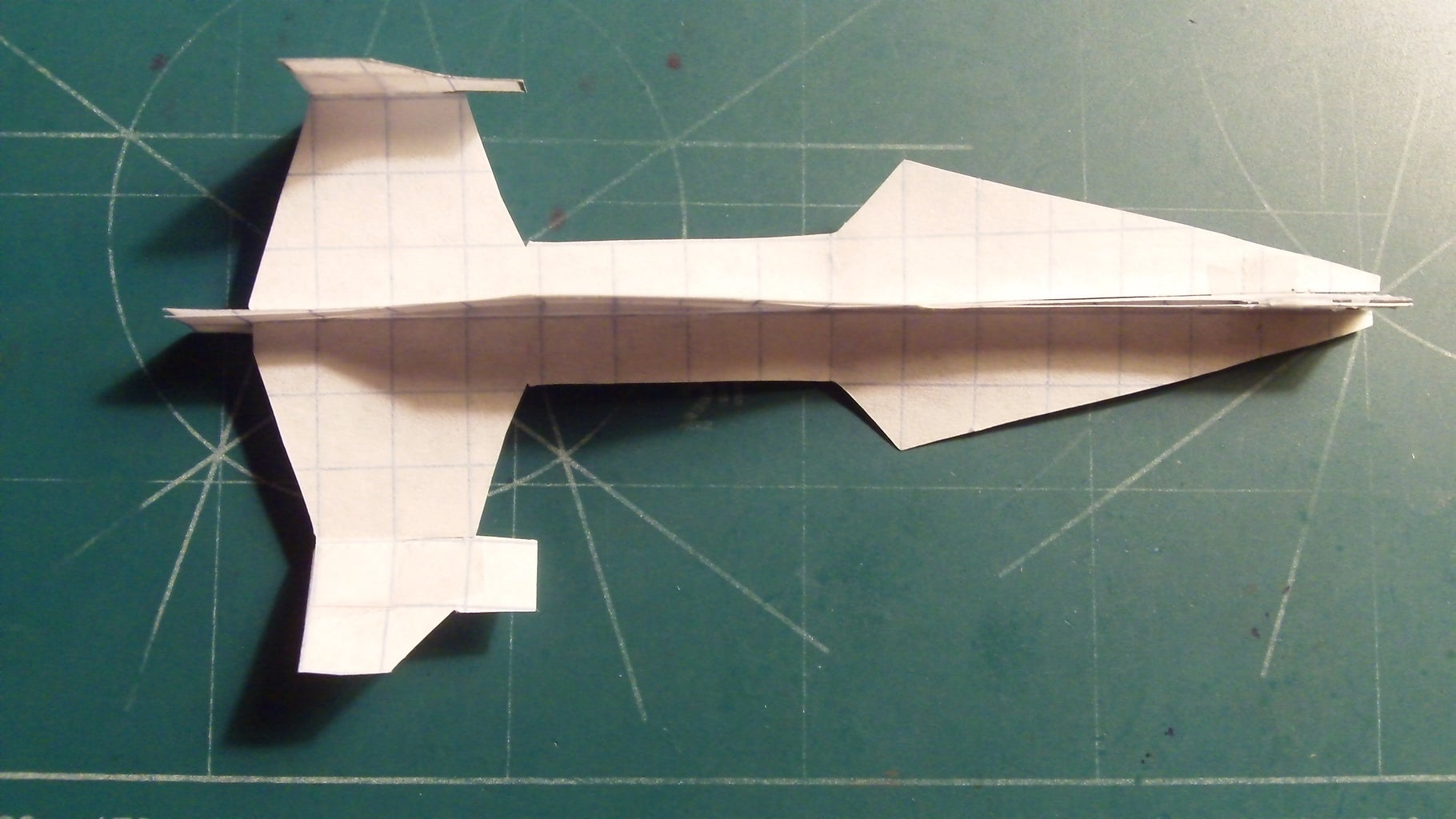 Making the Vertical Stabilizers