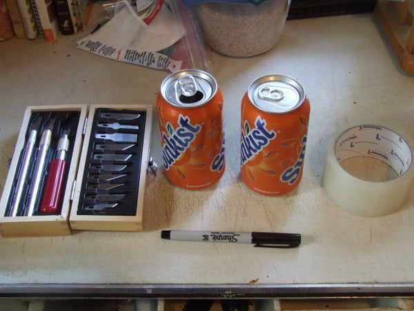 RFID Proof Soda Can Wallet