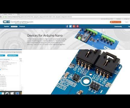 Temperature Measurement using MCP9803 and Arduino Nano