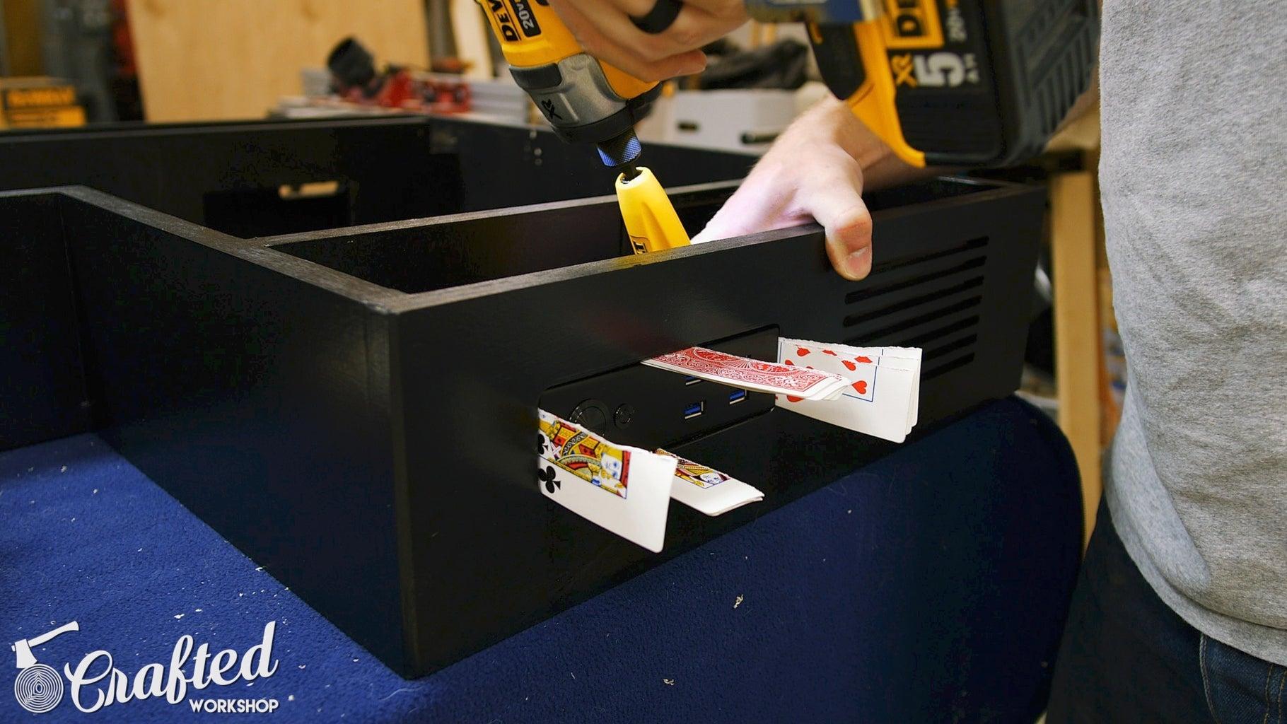 Install Computer Desk Hardware & Electronics