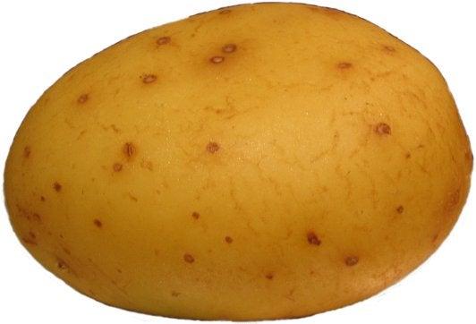 Denim Microwave Potato Bag.