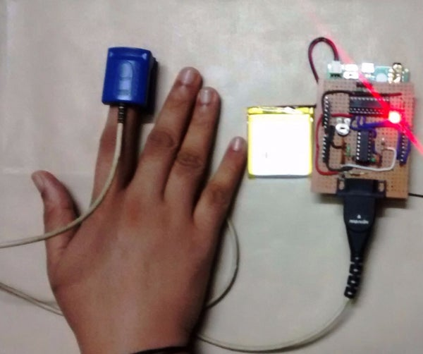 LinkIt One Remote Heart Rate Monitor