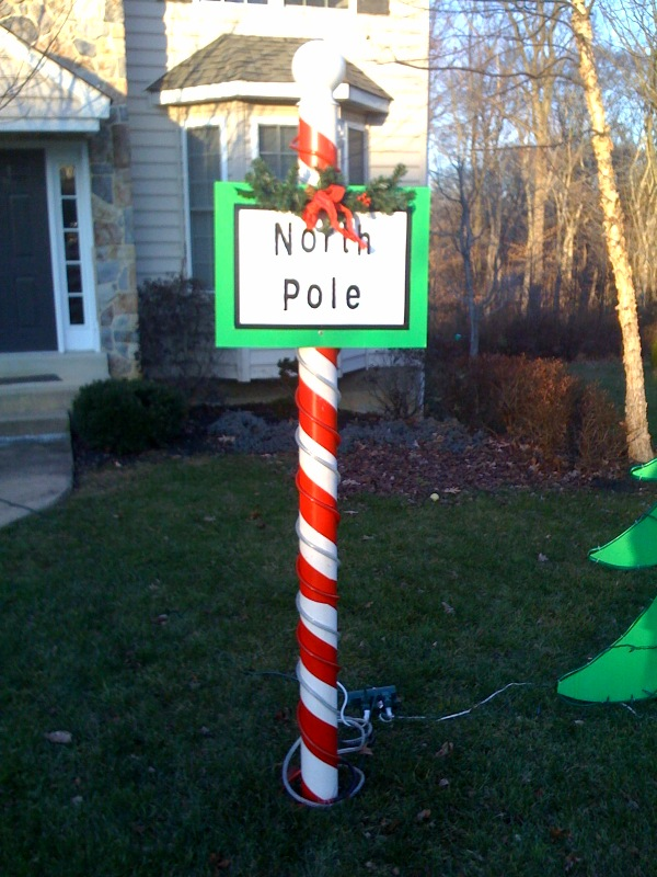 North Pole Christmas Decoration