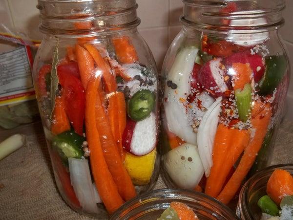 Traditional Armenian Pickles A.k.a Mayris Tourshu
