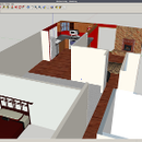 Matching real-life interior paint colors for use in Google Sketchup