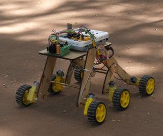 火星探测器:基于Evive-Arduino嵌入式平台的智能手机控制爬楼梯机器人