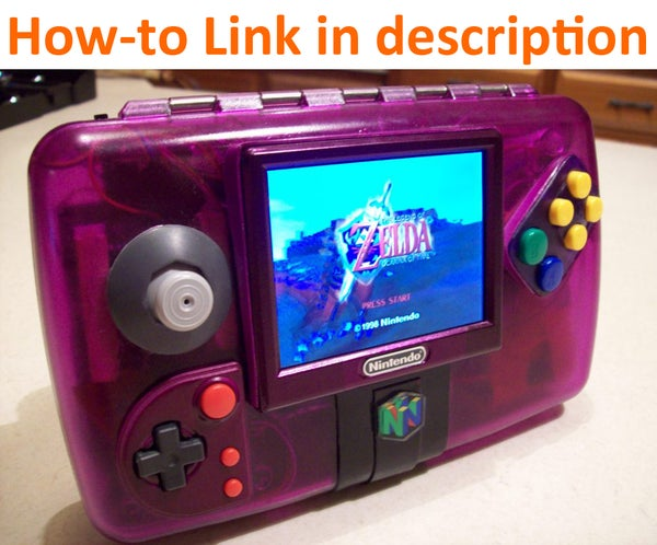 Grape64 Portable N64 System