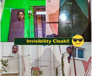 What If, I Get an 'Invisibility Cloak' As in Harry Potter Movies!