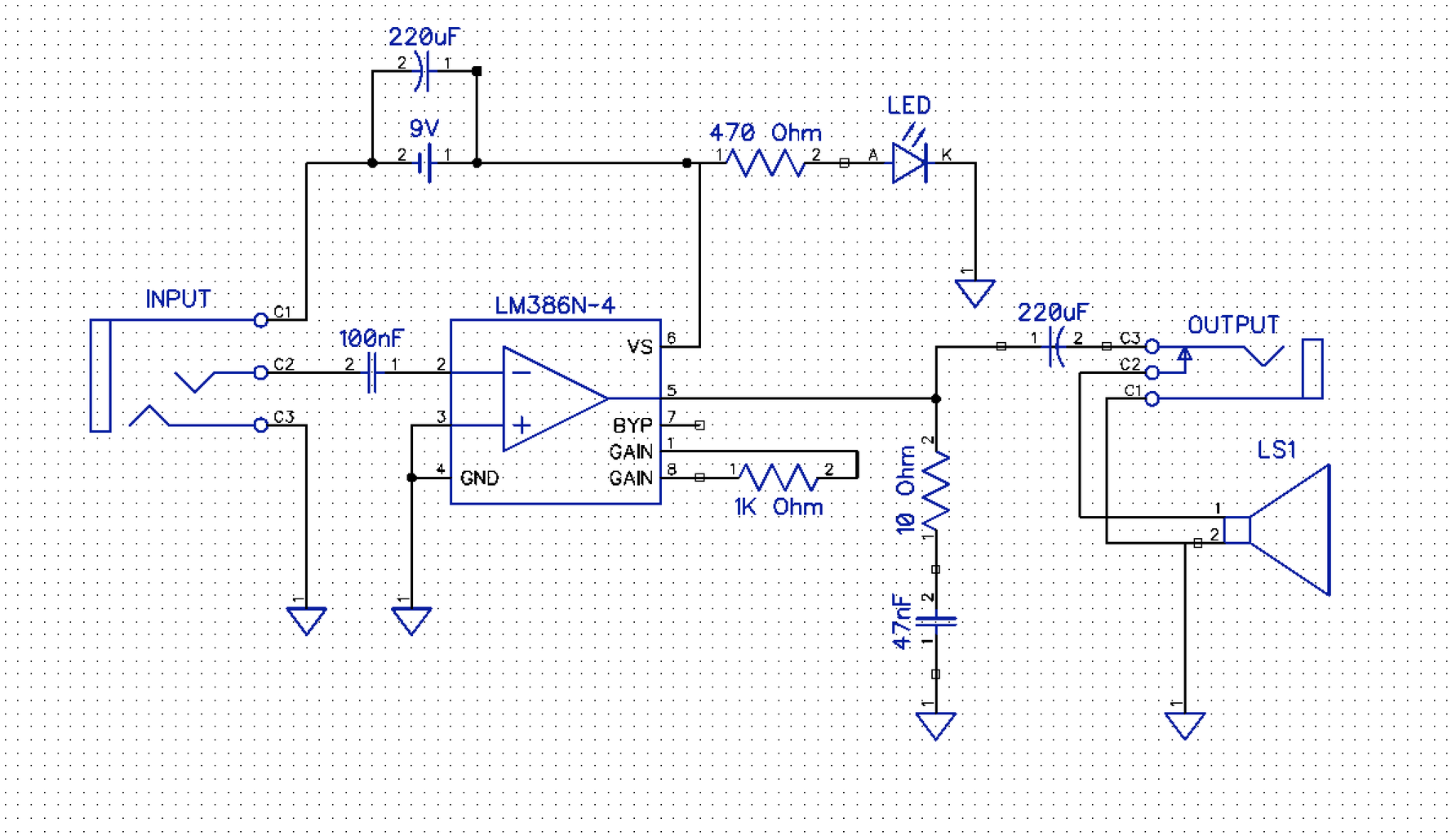 Schematic and Amp Board Fabrication