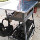 Up-Cycled Rolling Welding Station