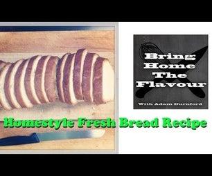 Homestyle Fresh Bread
