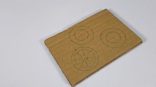 Make Cardboard Wheels