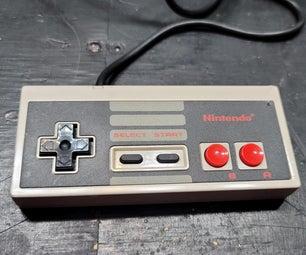 制作左侧NES控制器