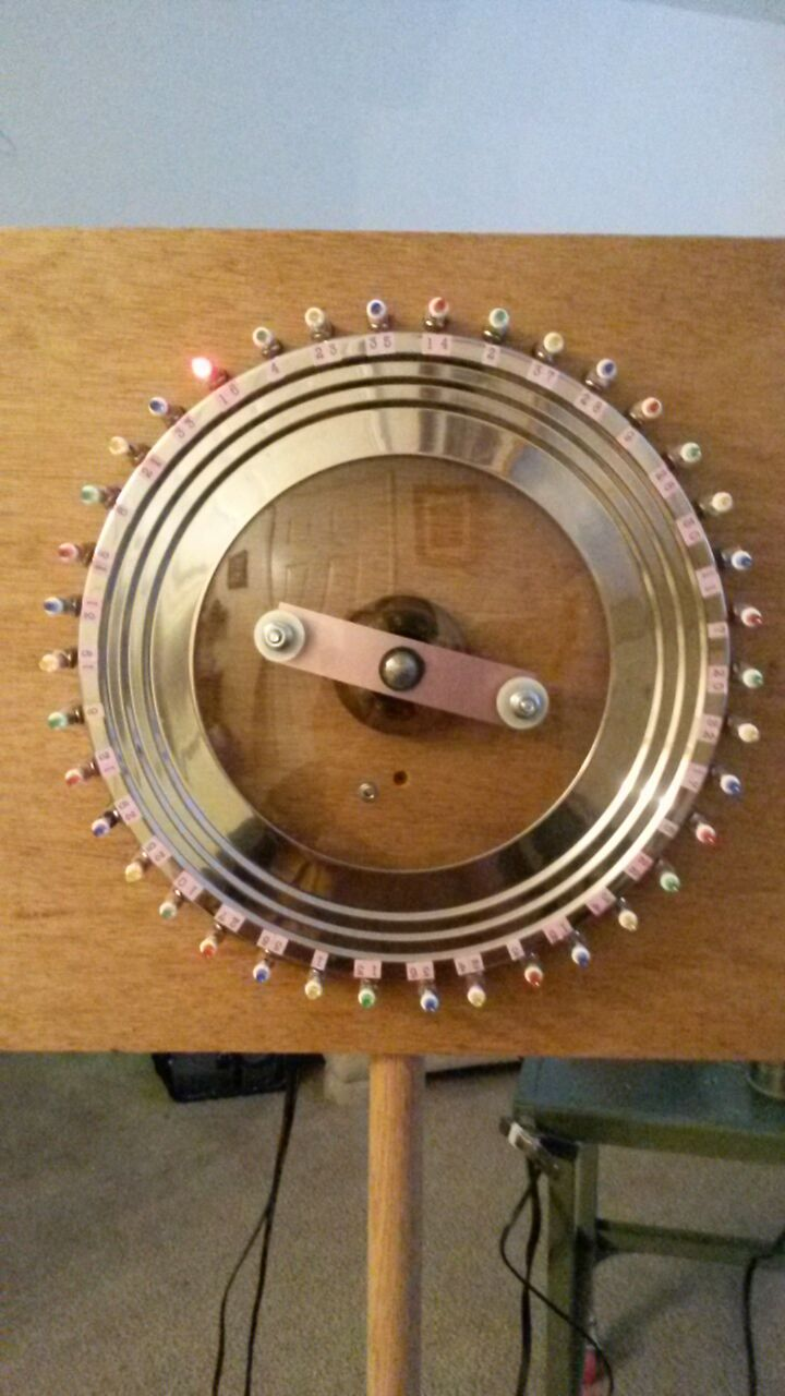 Digital/Mechanical Roulette Wheel