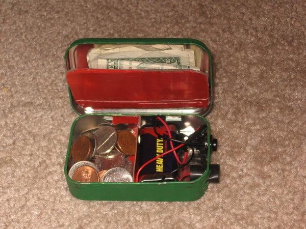 Altoids Flashlight/wallet