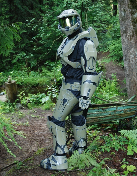 How to make foam Halo armor