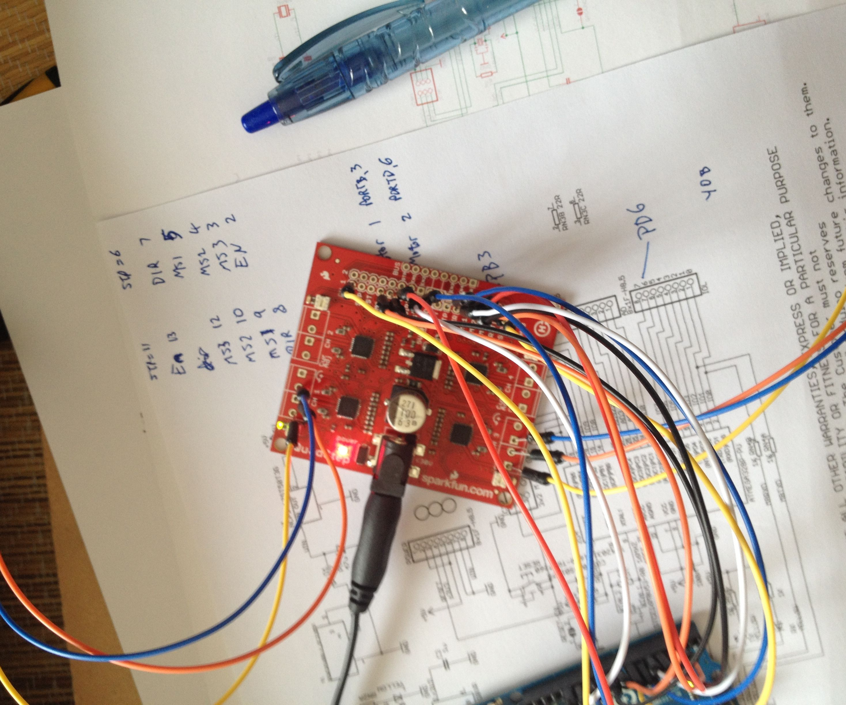 Arduino UNO 2-Axis Stepper Control