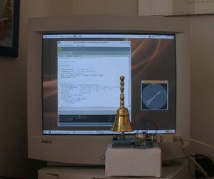 Build a Real Bell-striking Clock for Your PC and a Fire Extinguisher-striking Clock.