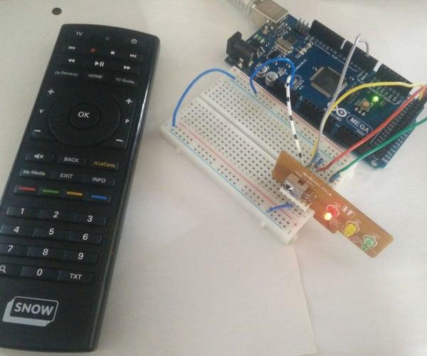 Arduino IR Receiver Control Computer