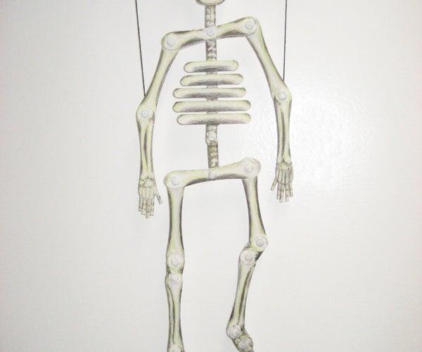 Stix to Bones- Skeleton Puppet