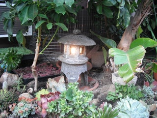 Make A Japanese Garden Lantern Out Of Hypertufa 4 Steps With Pictures Instructables