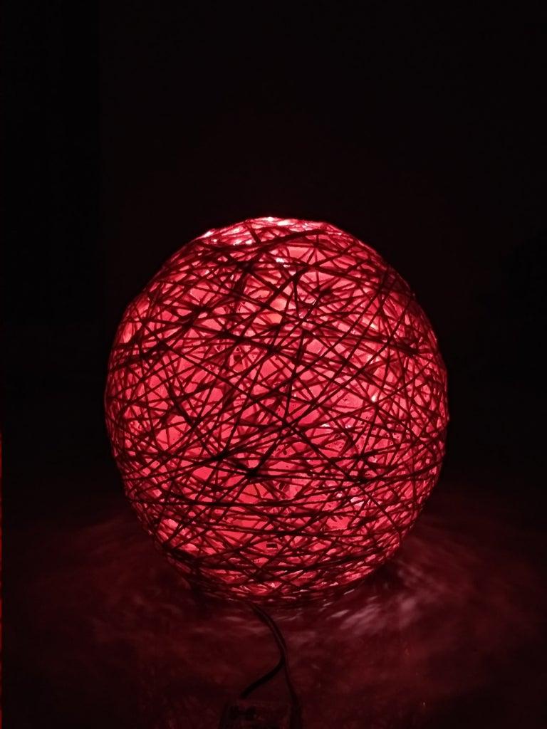DIY String Light Decor