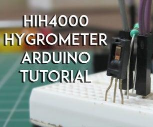 HIH4000 Humidity ,Hygrometer Sensor Tutorial