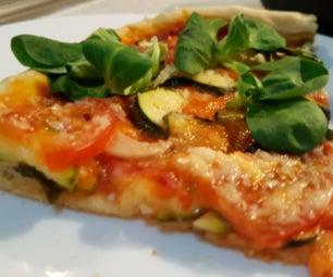 Vegan Pizza With Homemade Dough