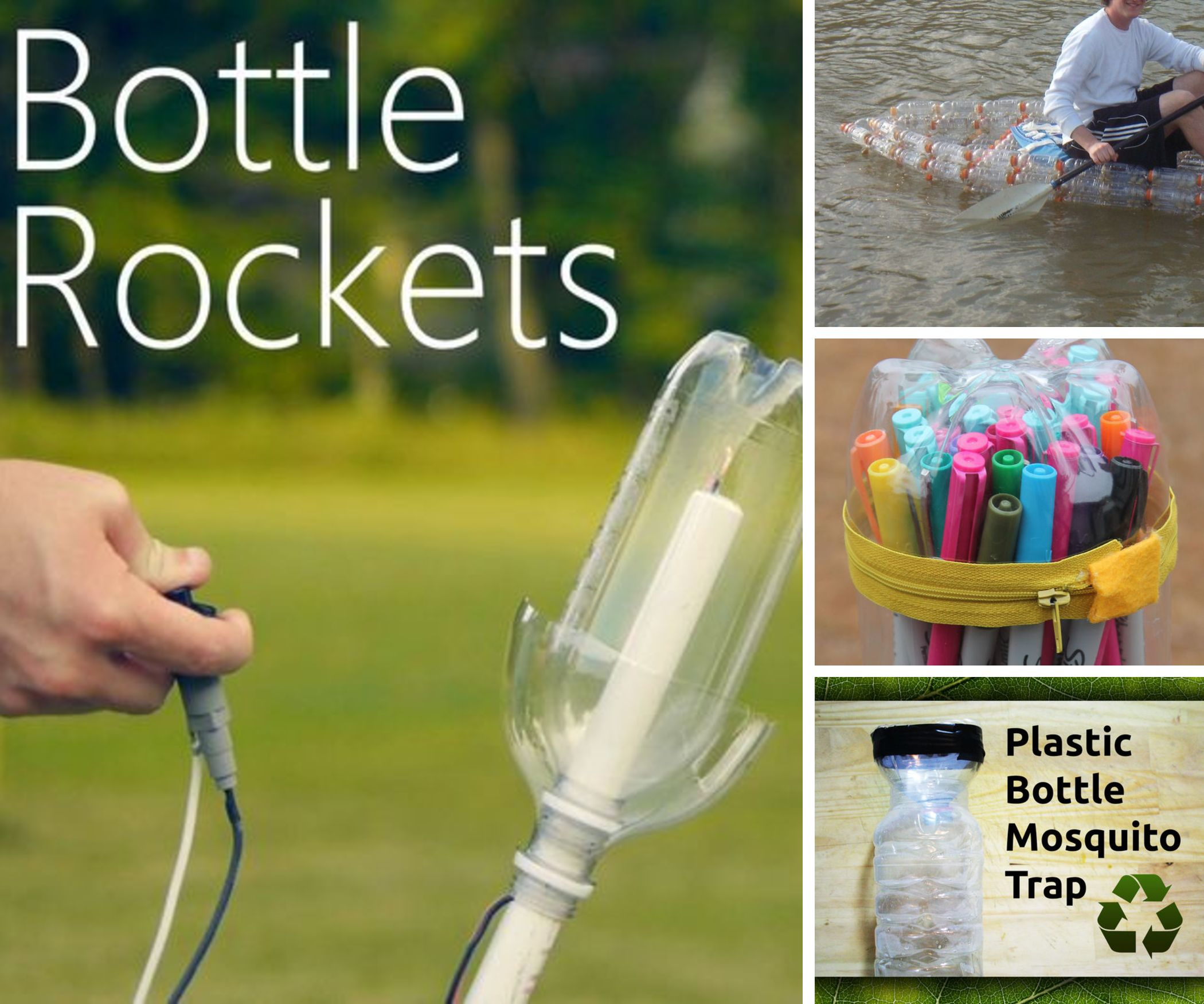 20 Unusual Uses for Plastic Bottles