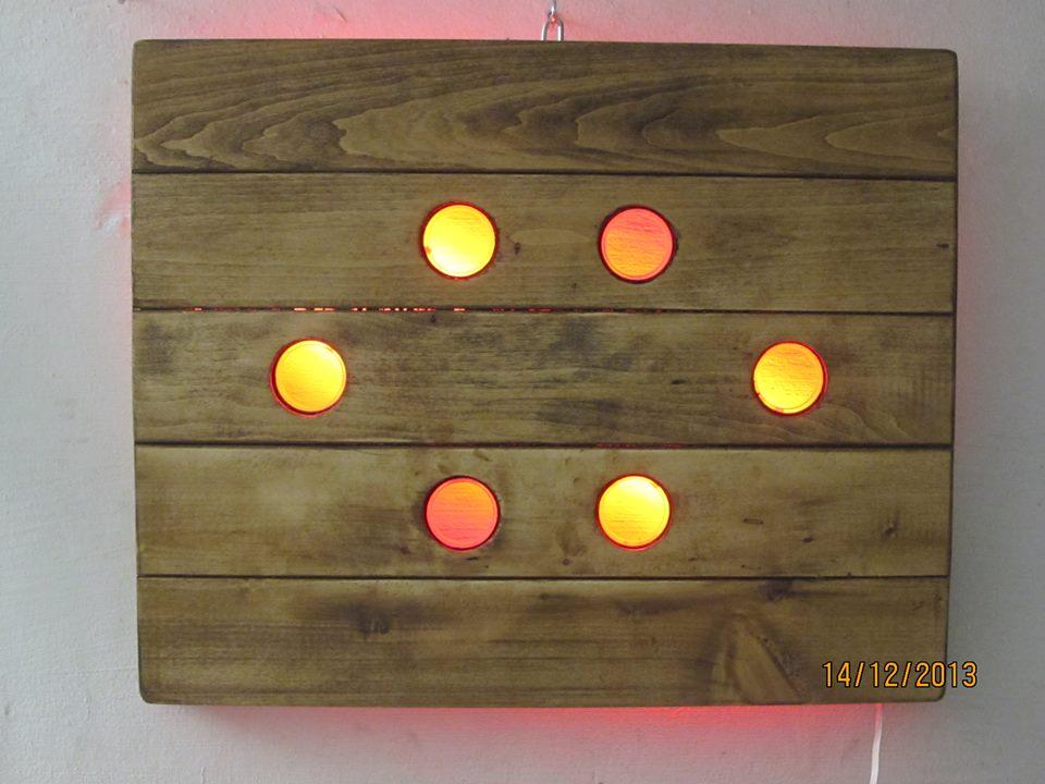 LED meets Wood