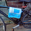 DIY Bike Bag From Recycled Materials