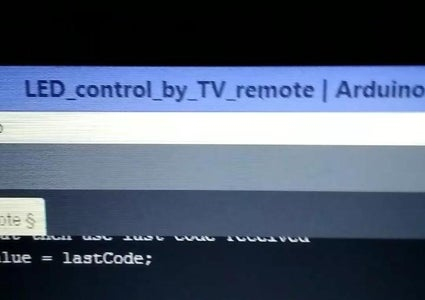 Control Led by Tv Remote