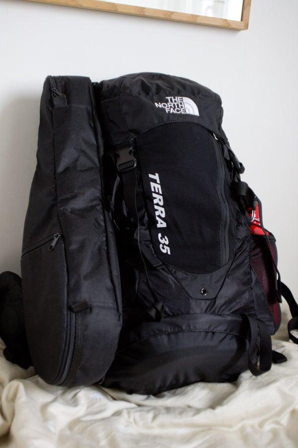 The Hiking Ukulele - How to Strap a Soft Ukulele/guitar Case to a Backpack