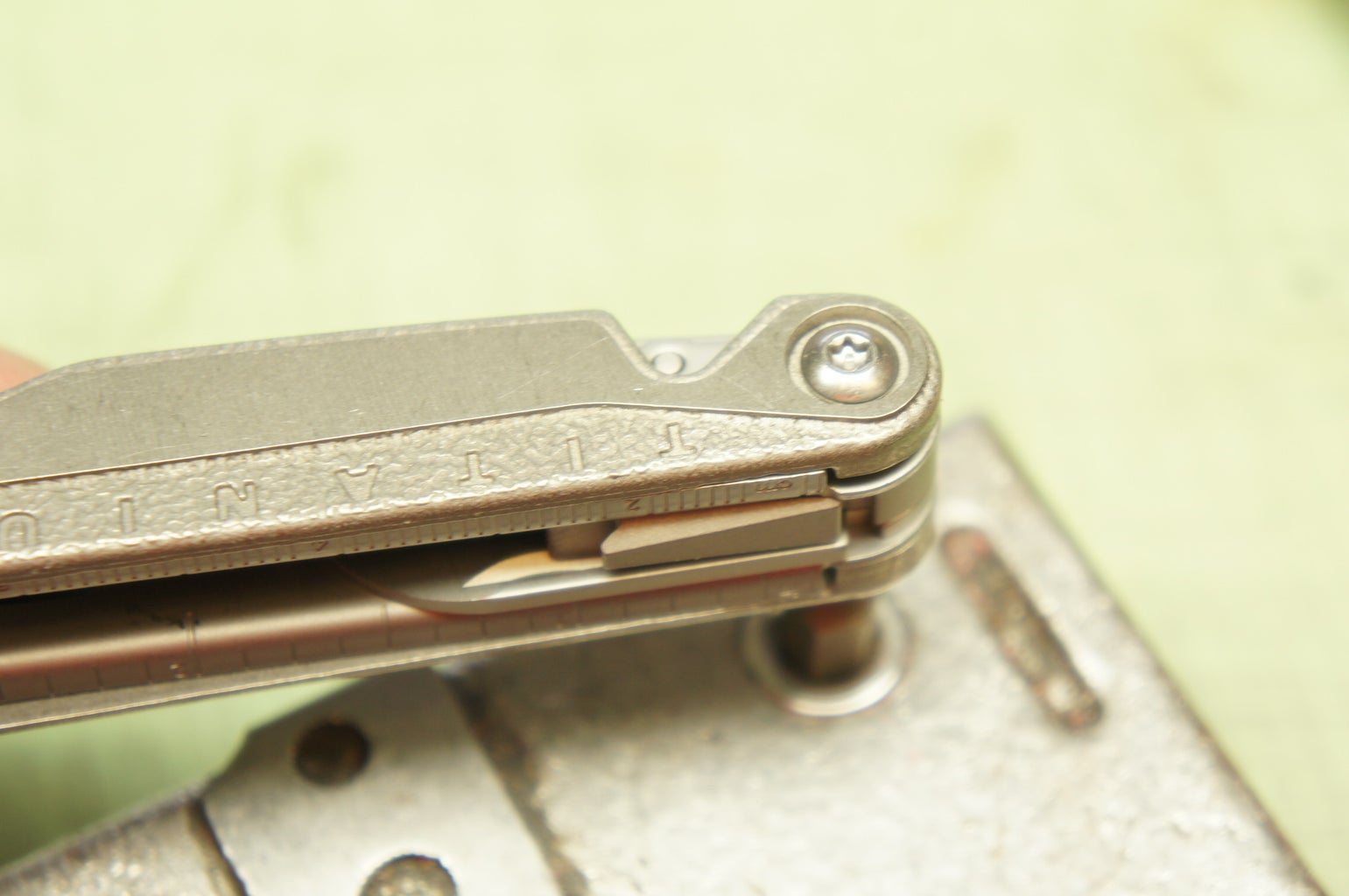 Re-insert Interior Pin (side A)