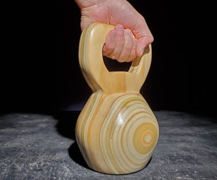 How to Make a Wooden Kettlebell
