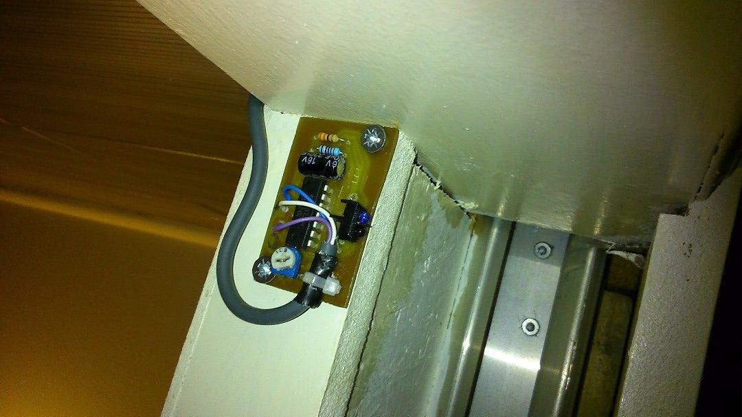 Mount the Proximity Sensor Near the Door