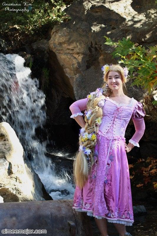 Disney Tangled Rapunzel Costume