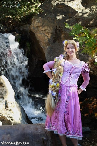 Disney Tangled Rapunzel Costume 6 Steps With Pictures Instructables