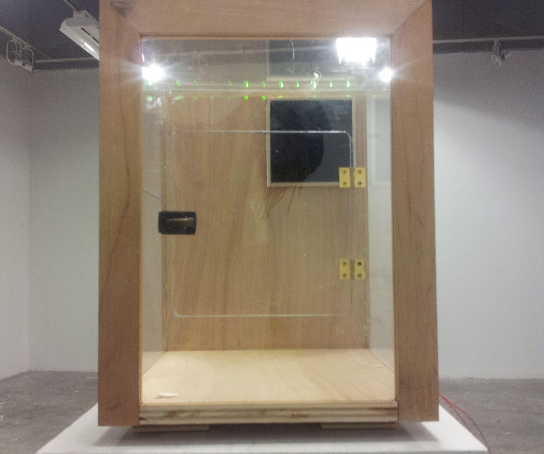 3D Printer Enclosure with Arduino LED Display