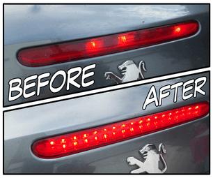 Car Brake Light Repair (LED Conversion)