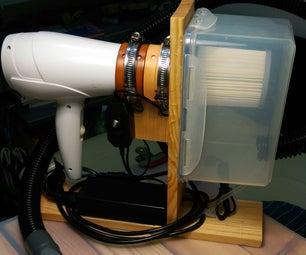 电吹风里的吸尘器