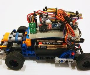 Arduino-izing Lego Technic Go Kart