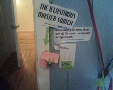 "Make a Diabolical ""Master Switch"""