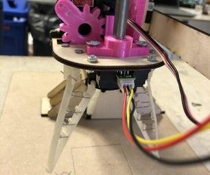 使用柔性夹持器的水果分拣机器人