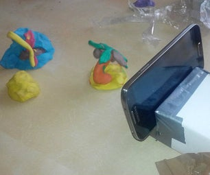 Stop Motion Movie With Dough