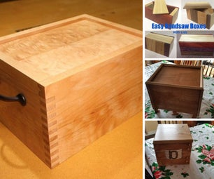 Woodworking: Boxes