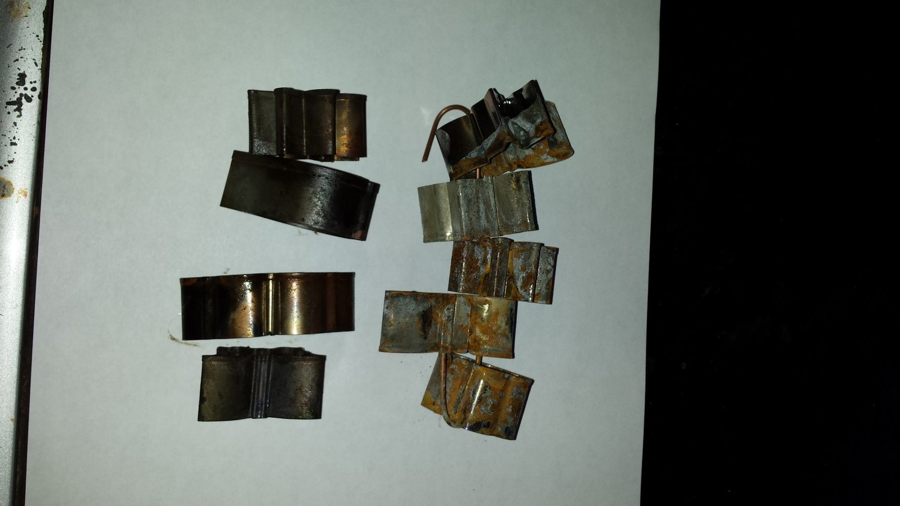 Electroplating With Antimony Sulfide Complex Over Steel and Possibly Copper. That Is Light Sensitive to UV.